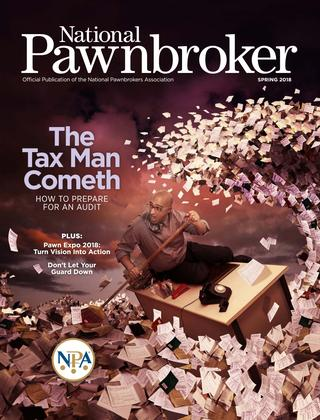 National Pawnbroker Spring 2018 Issue Book Cover